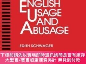 二手書博民逛書店Medical罕見English Usage And AbusageY255174 Schwager, Edi