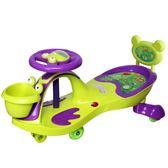 兒童扭扭車帶音樂萬向輪寶寶搖擺車1-3-6歲玩具滑行車溜溜妞妞車  范思蓮恩igo