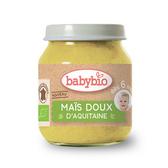 BABYBIO 有機甜玉米泥 130g-法國原裝進口6個月以上嬰幼兒專屬副食品