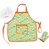 兒童玩具 / 益智玩具 德國 Hape / Educo 愛傑卡系列 │廚房系列 - 主廚圍裙套裝-幼童玩教具 #E3119AE