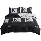 南極人男生宿舍四件套ins風被罩床上用品學生單人被套床單三件套4 夢幻小鎮