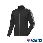 K-SWISS HS Jersey Jacket韓版運動外套-男-黑