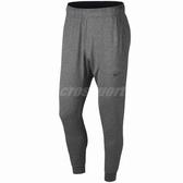 Nike 長褲 Dry Pant Hpr Dry Lt 男款 運動褲 縮口褲 束口褲 棉褲 綁帶 麻花灰【PUMP306】 AT5697-032