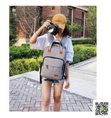 單眼相機包背包男女休閒攝影包索尼雙肩包佳能尼康加厚防水微單包  一件免運