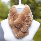 皮草毛領獺兔毛-柔軟溫暖舒適附夾子女圍巾11色73r19[巴黎精品]