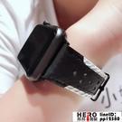 iwatch錶帶真皮表帶apple watch1/2/3代【邦邦男裝】
