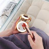隨身化妝鏡帶燈便攜小鏡子led發光雙面鏡補光美妝放大可折疊充電