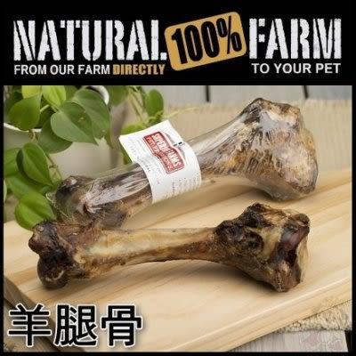 *King Wang*【單支】自然牧場100%Natural Farm 紐西蘭天然零食《羊腿骨》狗狗零食/寵物點心
