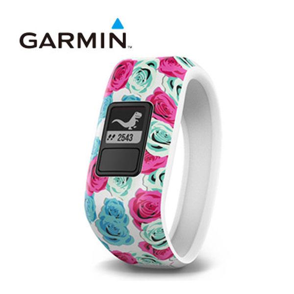 GARMIN vivofit jr. 兒童專屬活動追蹤手環(繽紛花樣)