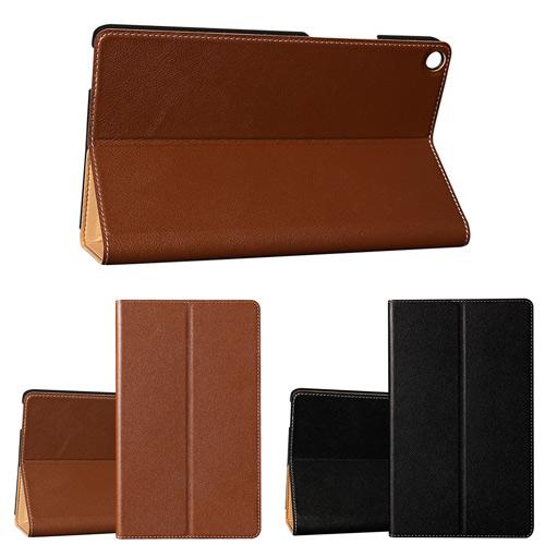 ◆ 免運費加贈電容筆◆華為 HUAWEI MediaPad T3 8吋 平板電腦專用直接斜立式牛皮皮套 保護套