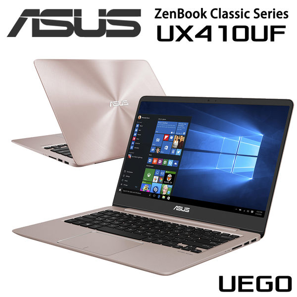 ASUS 華碩 Zenbook UX410UF-0053C8250U 玫瑰金 UX410U UX410