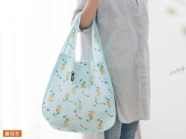 【摺疊購物袋】8款 文藝風單肩包 可折疊環保袋 牛津布手提袋 收納袋