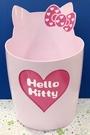 【震撼精品百貨】Hello Kitty 凱蒂貓~日本塑膠垃圾桶-大臉造型#61846