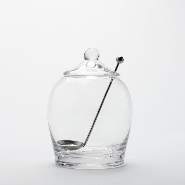 享受滋味蜜餞玻璃罐附匙580ml-生活工場