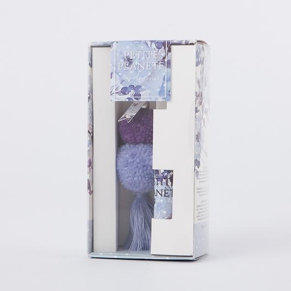 【出清SALE 】小星球幻影紫香氛吊飾-生活工場