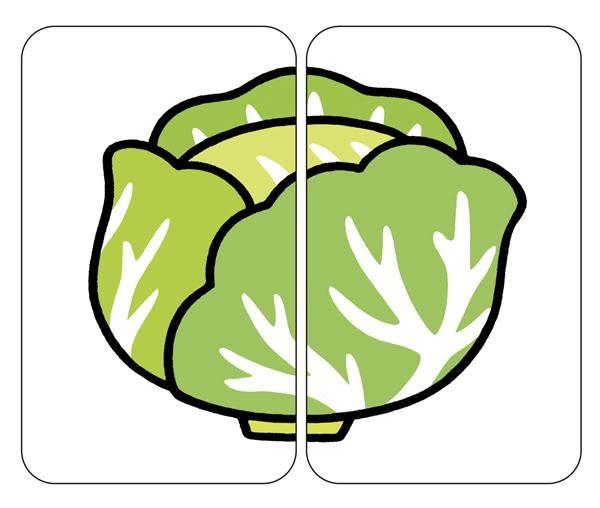 益智配對卡:好吃蔬果