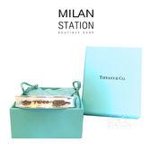 【台中米蘭站】TIFFANY 925 純銀 C型 手環