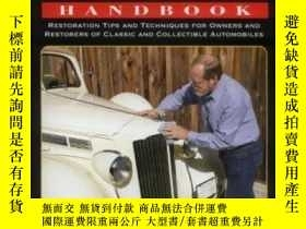 二手書博民逛書店Classic罕見Car Restorer s Handbook: Restoration Tips And Te