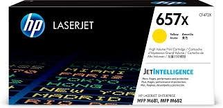 CF472X HP 657X 原廠黃色高印量碳粉匣 適用 LaserJet Enterprise Flow MFP M681z/M682z/M681dh/M681f