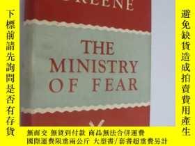 二手書博民逛書店The罕見Ministry Of Fear (Uniform E
