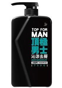 脫普TOP FOR MAN頂極男士沁涼去屑洗髪精  750g