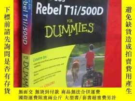 二手書博民逛書店Canon罕見EOS Rebel T1i 500D for Du