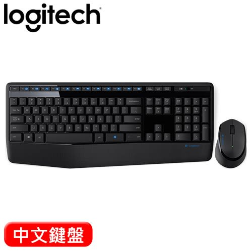 Logitech 羅技 MK345 2.4G無線鍵盤滑鼠組 中文
