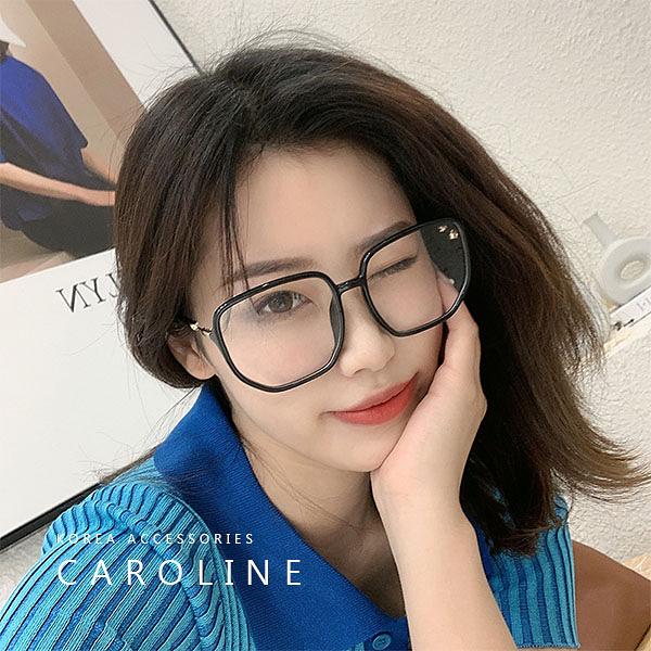 《Caroline》年度最新款平光鏡防藍光平光眼镜 TR90方框 平光眼鏡 72290