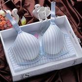 哺乳胸罩哺乳胸罩聚攏防下垂餵奶薄前開扣式無鋼圈產後孕婦內衣胸罩懷孕期【奇趣家居】
