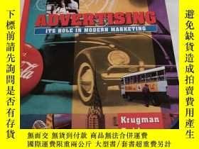 二手書博民逛書店ADVERTISING罕見ITS ROLE IN MODERN MARKETING(廣告及其在現代營銷中的作用)奇