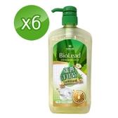 《台塑生醫》BioLead 蘆薈洋甘菊碗盤洗潔精1000g 6 瓶組