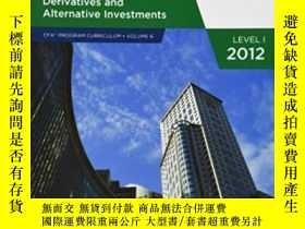 二手書博民逛書店Cfa罕見Curriculum 2012 Level1: Derivatives And Alternative