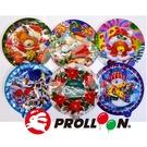 【大倫氣球】14cm 聖誕節-圓形自動充...