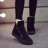 2020冬季新款加絨保暖雪地靴女學生短筒棉靴韓版馬丁短靴百搭棉鞋 降價兩天