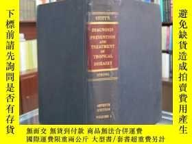 二手書博民逛書店Stitt s罕見diagnosis prevention and treatment of tropical