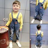 ✡老闆定錯價✡ 寶寶牛仔背帶褲男童韓版背帶褲小兒童長褲子1235歲潮