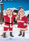 聖誕節兒童服裝男女童演出服幼兒園服飾裝扮衣服兒童聖誕老人套裝 聖誕節特惠