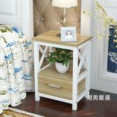 簡易床頭櫃簡約現代臥室床頭桌迷你床邊櫃收納儲物床櫃創意小櫃子xw