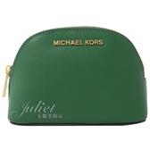 茱麗葉精品【全新現貨】MICHAEL KORS Jet Set Travel 萬用包/化妝包.綠 小款
