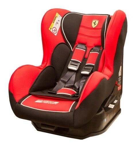 『121婦嬰用品館』Ferrari 旗艦法拉利0~4歲安全汽座(紅色)FB00299