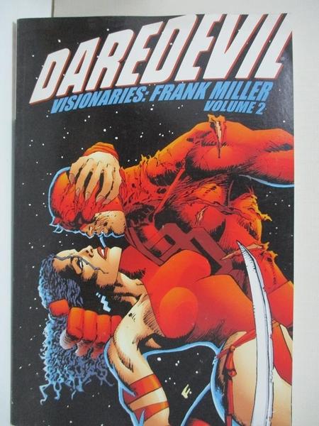 【書寶二手書T9/藝術_FLP】Daredevil Visionaries: Frank Miller_Miller_2第2集