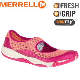 【MERRELL 美國 女款 ALL OUT BOLD II 玫紅色】ML55226/越野鞋/休閒鞋/登山鞋/運動鞋/健行