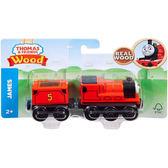 《 Thomas & Friends 》湯瑪士WOODEN - 詹姆士 ╭★ JOYBUS玩具百貨