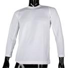BURBERRY紳士透氣排汗休閒長袖上衣(白色)085206