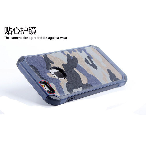 【CHENY】iphone5/5s/SE 迷彩保護殼 防摔殼 防撞殼 空壓殼氣墊殼二合一皮質保護軟膠