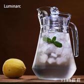 耐熱玻璃冷水壺大容量玻璃冷水壺扎壺涼水杯茶壺家用套裝涼水壺 nm2850 【VIKI菈菈】
