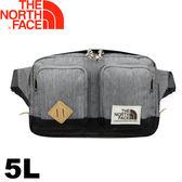 【The North Face 美國 5L 腰包《灰》】2UCY/運動腰包/隨身包/防潑水★滿額送