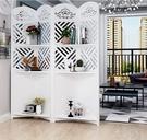 歐式屏風隔斷客廳折疊行動裝飾網紅臥室遮擋...