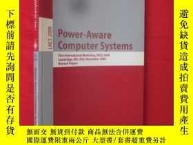 二手書博民逛書店Power-Aware罕見Computer Systems: F