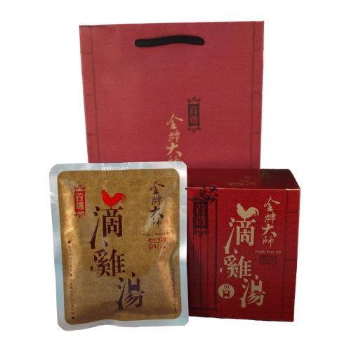 【金牌大師滴雞精】2盒 (免運費)